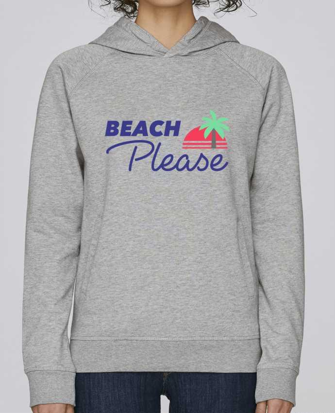 Sweat Capuche Femme Stanley Base Beach please par Ruuud
