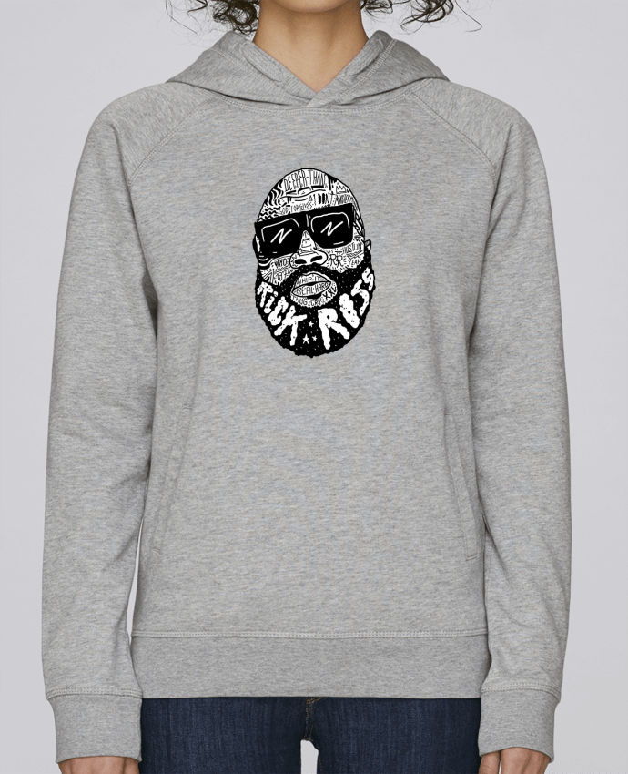 Sweat Capuche Femme Stanley Base Rick Ross head par Nick cocozza