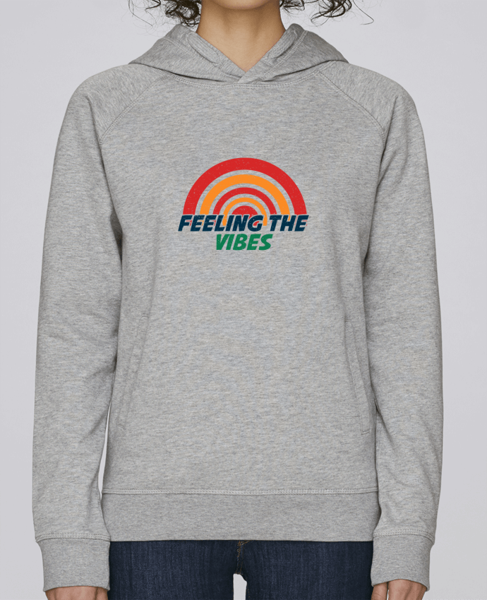 Sweat Capuche Femme Stanley Base Feeling the vibes par tunetoo