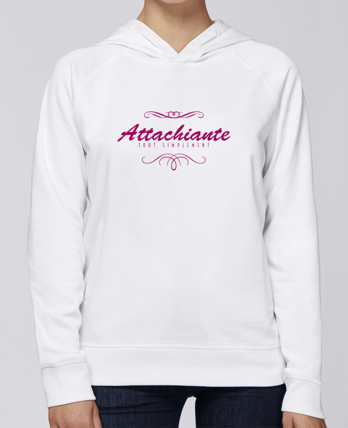 Sweat Capuche Femme Stanley Base Attachiante par PTIT MYTHO