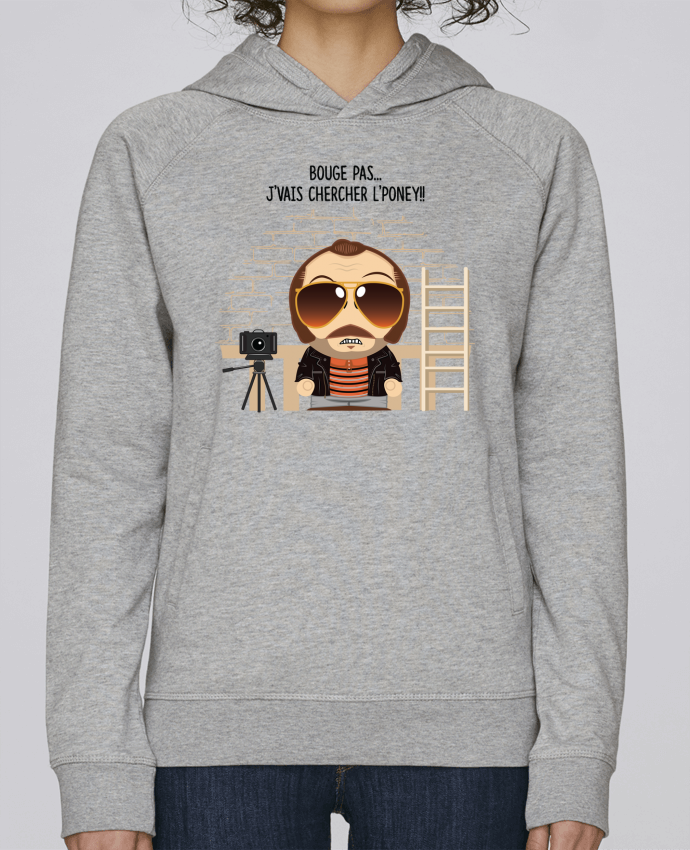 Sweat Capuche Femme Stanley Base Claudy Focan et le Poney par PTIT MYTHO