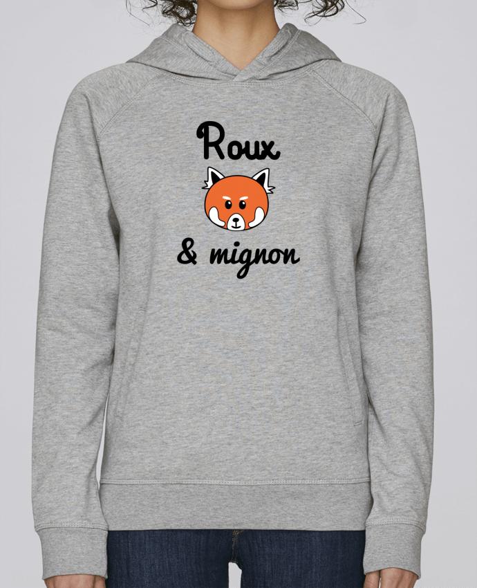Sweat Capuche Femme Stanley Base Roux & Mignon, Panda roux par Benichan