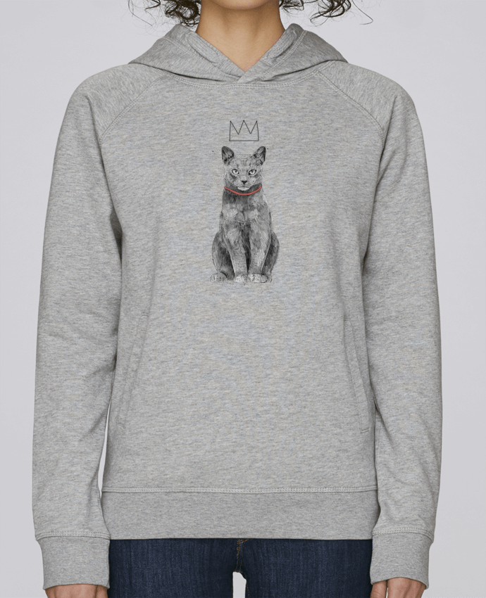 Sweat Capuche Femme Stanley Base King Of Everything par Balàzs Solti