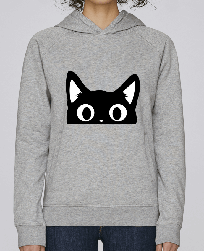 Sweat Capuche Femme Stanley Base Chat par Nana