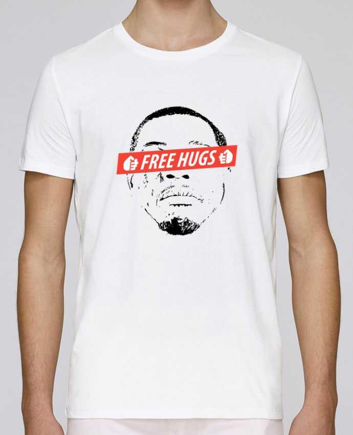 T-Shirt Col Rond Stanley Leads Free Hugs par tunetoo