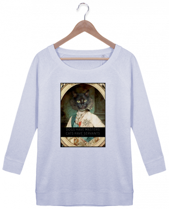 Sweat Manches 3/4 Femme Stella Amazes Tencel King Cat par Tchernobayle