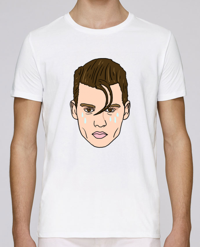 T-Shirt Col Rond Stanley Leads Cry baby par Nick cocozza