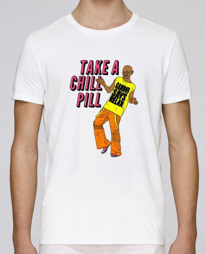 T-Shirt Col Rond Stanley Leads Chill Pill par Nick cocozza