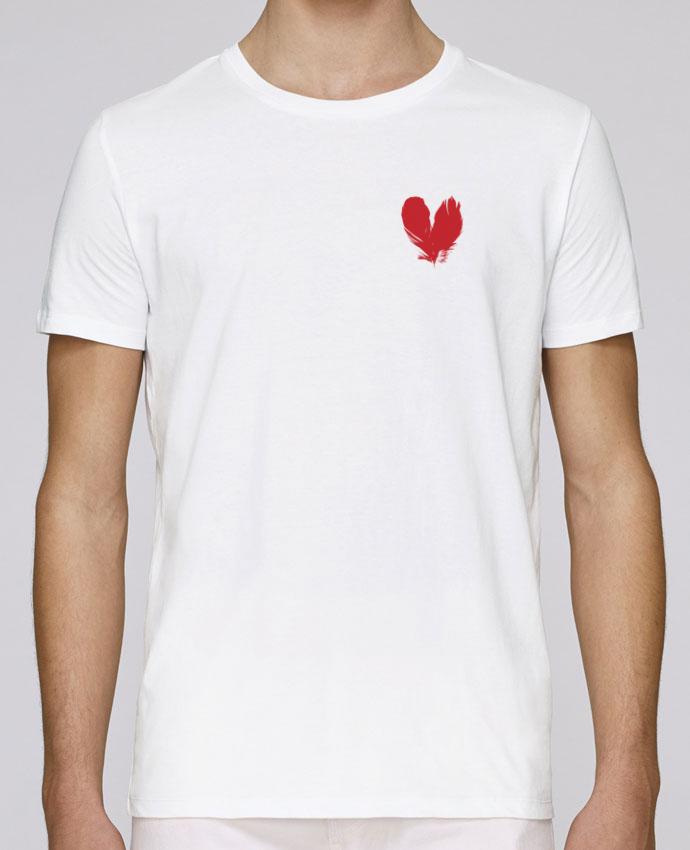 T-Shirt Col Rond Stanley Leads coeur de plumes par Studiolupi