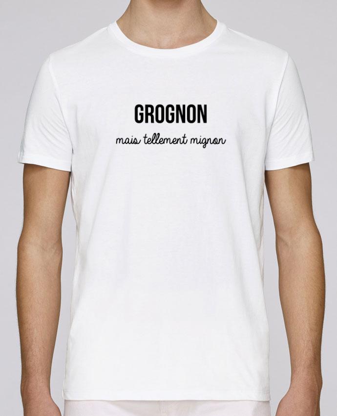 T-Shirt Col Rond Stanley Leads Grognon par tunetoo