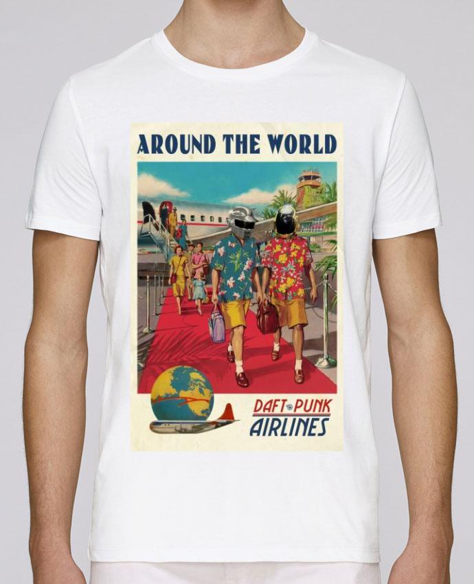T-Shirt Col Rond Stanley Leads Arount the World par Ads Libitum