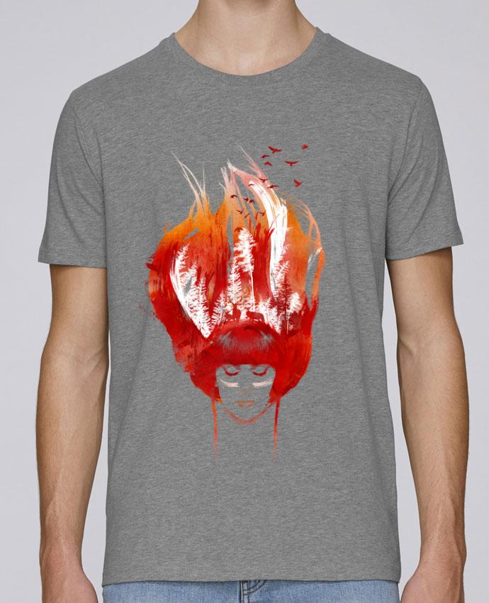 T-Shirt Col Rond Stanley Leads Burning forest par robertfarkas