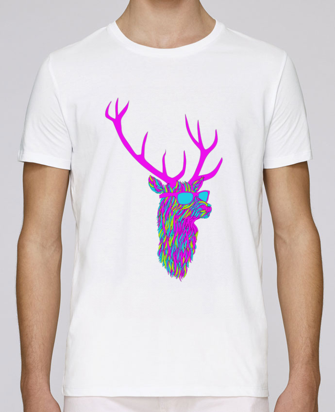 T-Shirt Col Rond Stanley Leads Party deer par robertfarkas