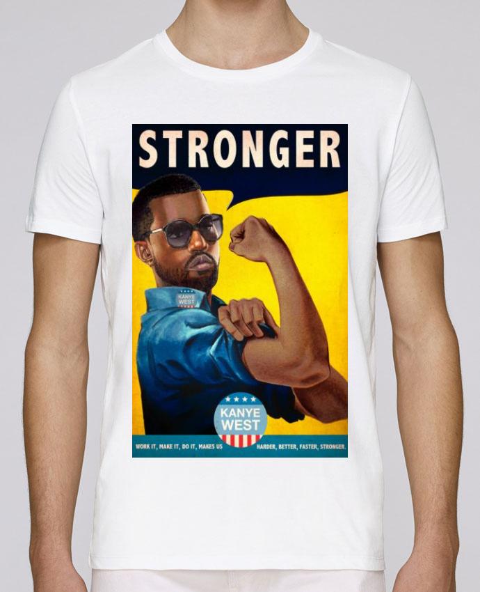 T-Shirt Col Rond Stanley Leads Stronger par Ads Libitum