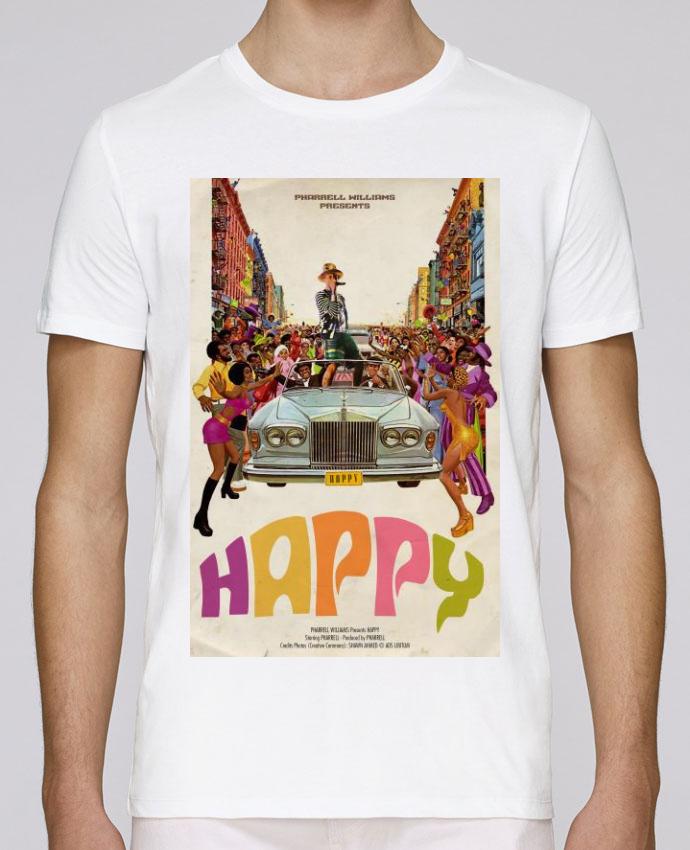 T-Shirt Col Rond Stanley Leads Happy par Ads Libitum