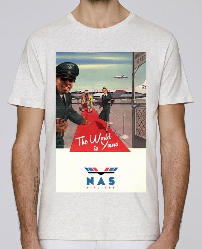 T-Shirt Col Rond Stanley Leads Nas Airlines par Ads Libitum
