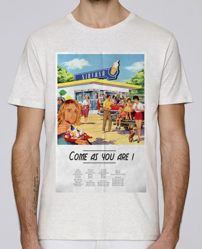T-Shirt Col Rond Stanley Leads Come as you are par Ads Libitum