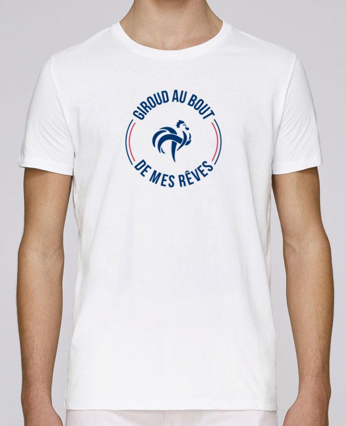 T-Shirt Col Rond Stanley Leads Giroud au bout de mes rêves par tunetoo