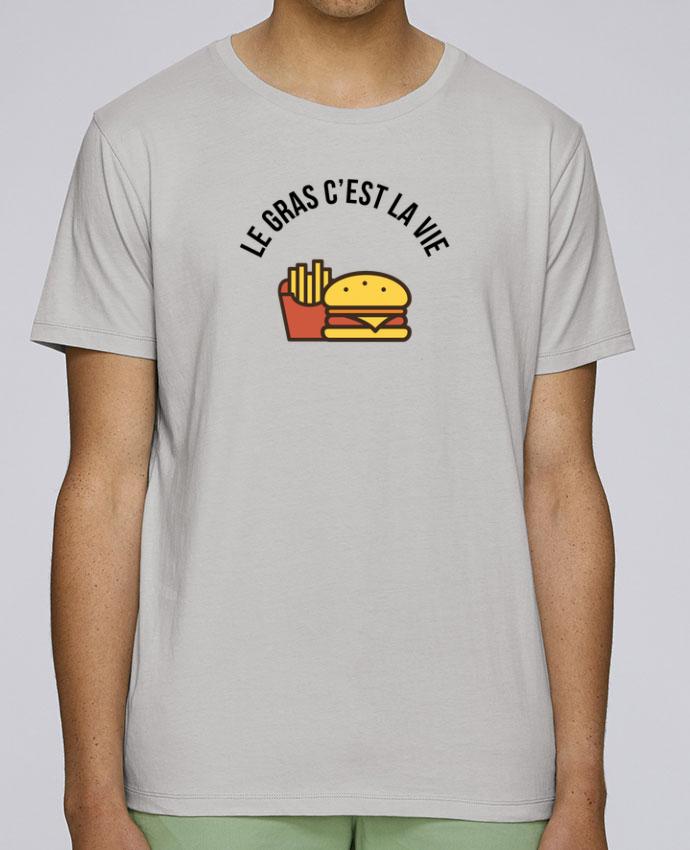 T-Shirt Col Rond Stanley Leads Le gras c'est la vie par tunetoo