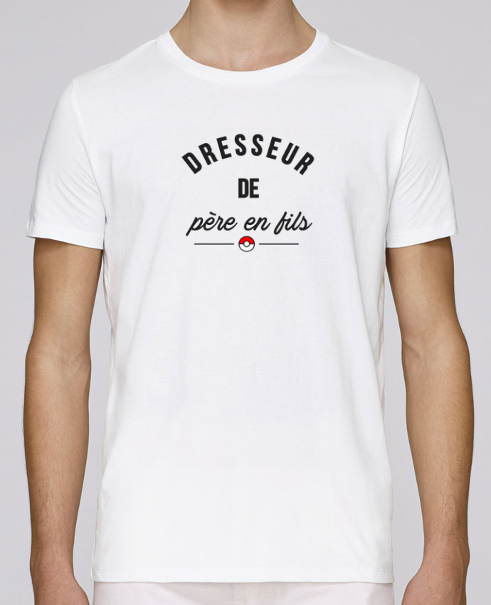 T-Shirt Col Rond Stanley Leads Dresseur de père en fils par Ruuud