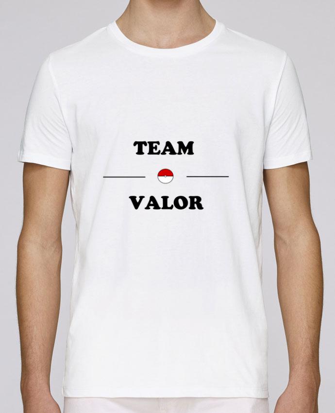 T-Shirt Col Rond Stanley Leads Team Valor Pokemon par Lupercal