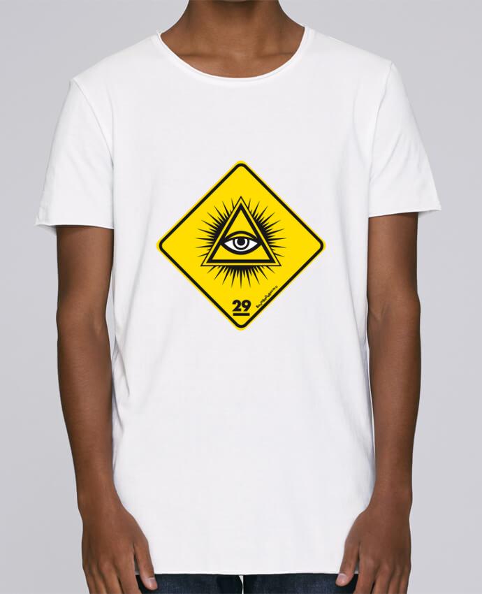 T-shirt Homme Oversized Stanley Skates Delta rayonnant Franc Maçonnique par Zorglub