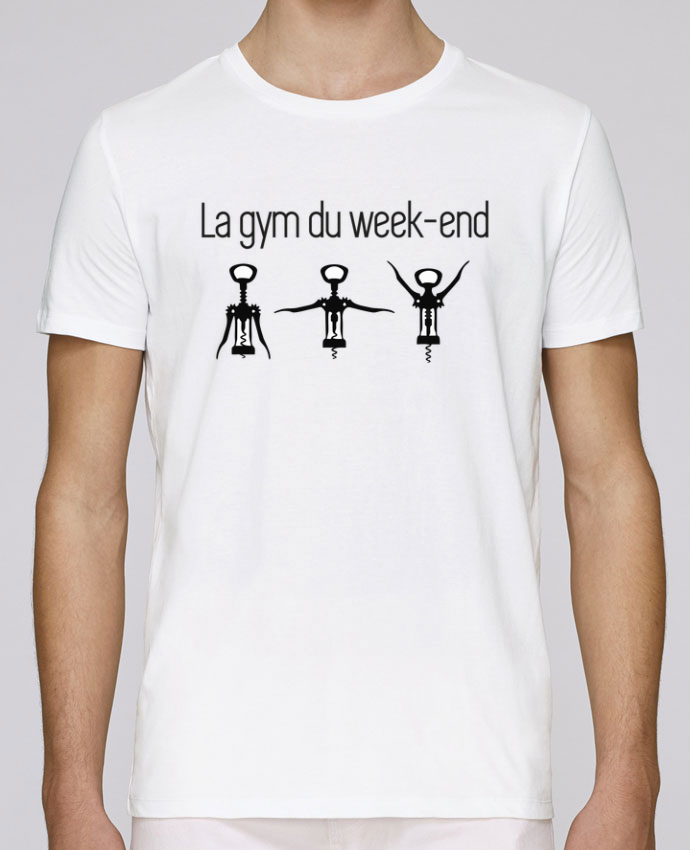 T-Shirt Col Rond Stanley Leads La gym du week-end par Benichan