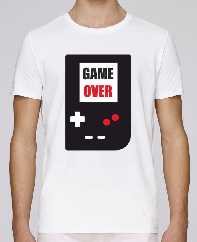 T-Shirt Col Rond Stanley Leads Game Over Console Game Boy par Benichan