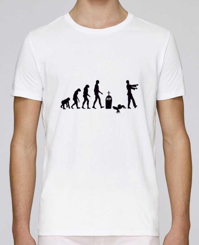 T-Shirt Col Rond Stanley Leads Zombie évolution par Benichan