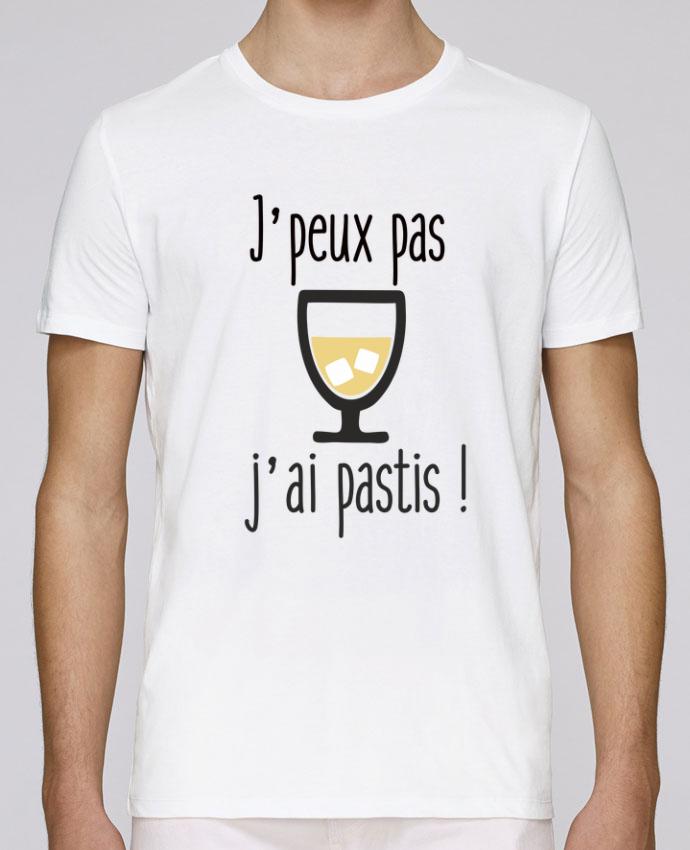 T-Shirt Col Rond Stanley Leads J'peux pas j'ai pastis par Benichan