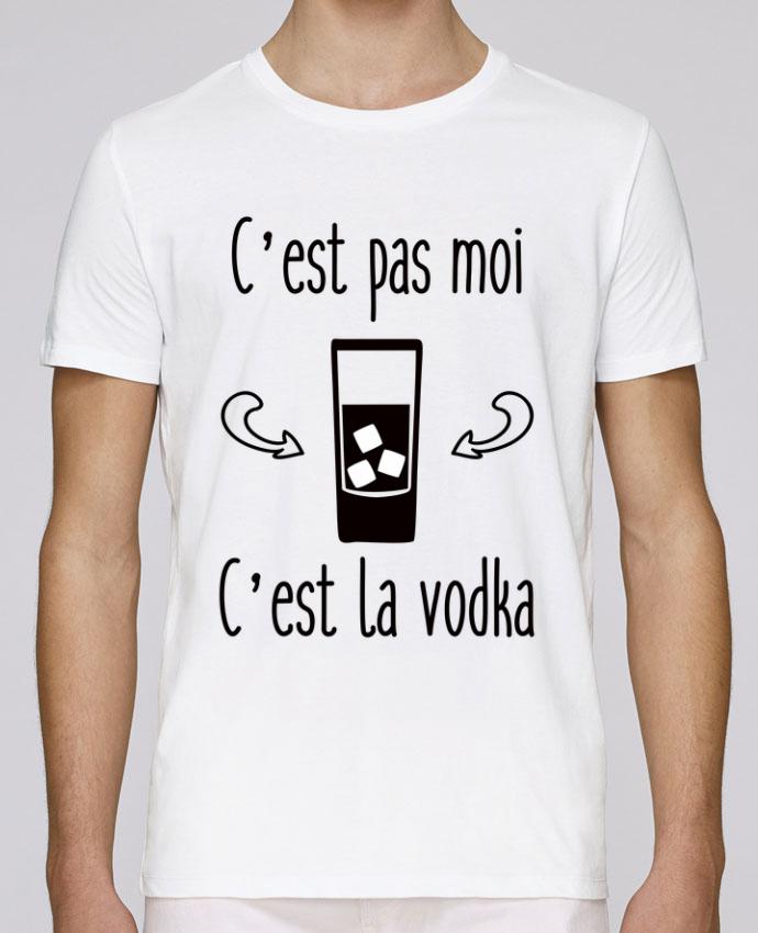 T-Shirt Col Rond Stanley Leads C'est pas moi c'est la vodka par Benichan