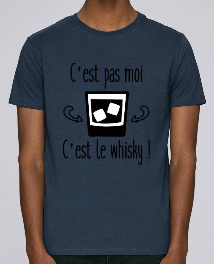 T-Shirt Col Rond Stanley Leads C'est pas moi c'est le whisky par Benichan