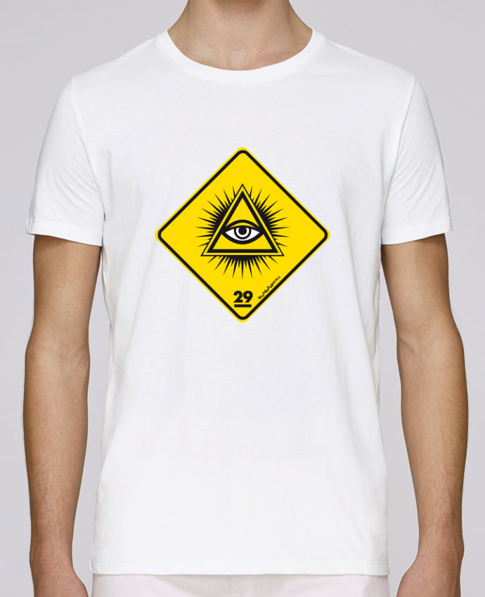 T-Shirt Col Rond Stanley Leads Delta rayonnant Franc Maçonnique par Zorglub