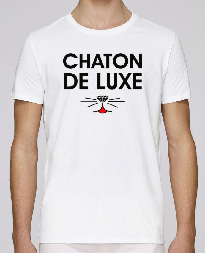 T-Shirt Col Rond Stanley Leads Chaton de luxe par tunetoo