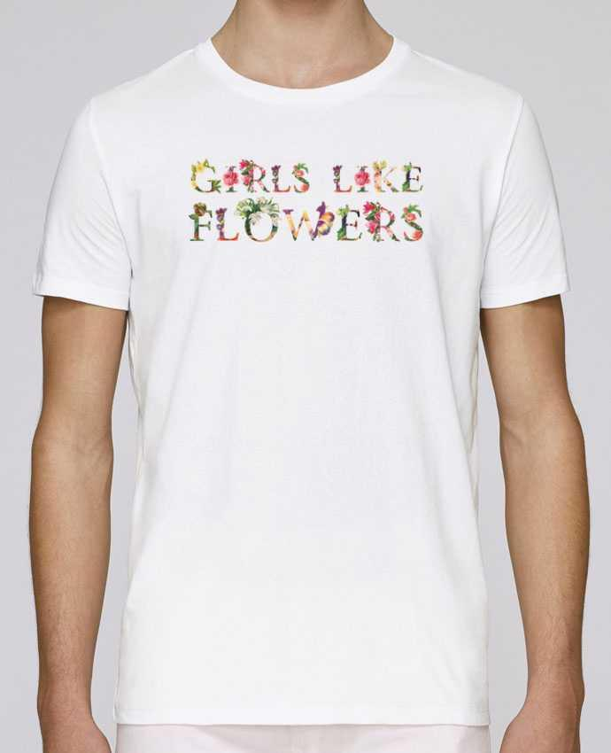 T-Shirt Col Rond Stanley Leads Girls like flowers par tunetoo
