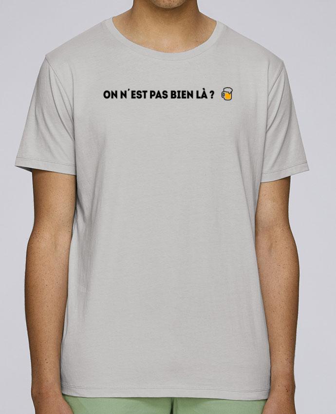 T-Shirt Col Rond Stanley Leads On n'est pas bien là ? par tunetoo