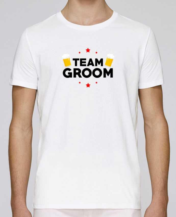 T-Shirt Col Rond Stanley Leads Team Groom par Minou