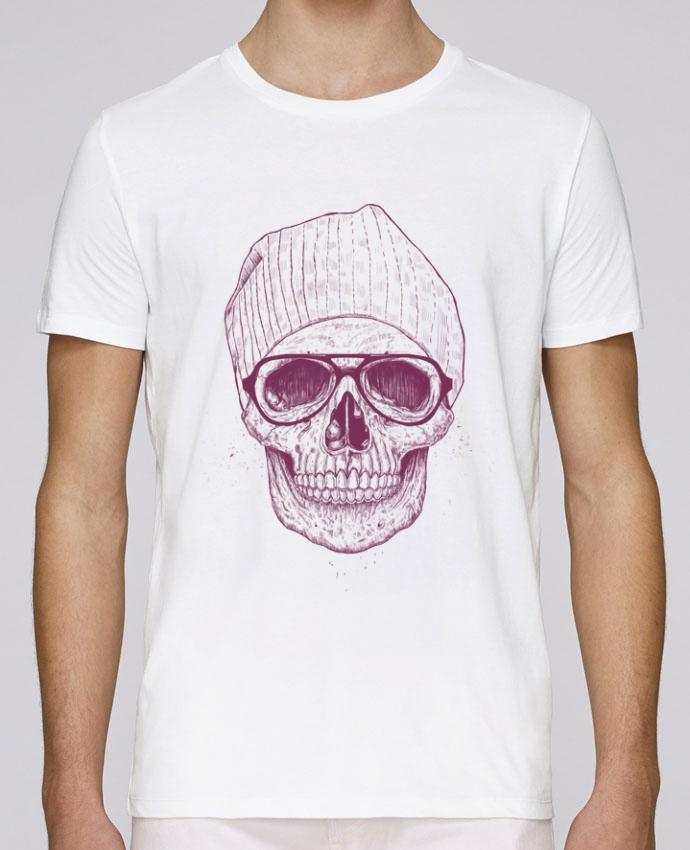 T-Shirt Col Rond Stanley Leads Cool Skull par Balàzs Solti