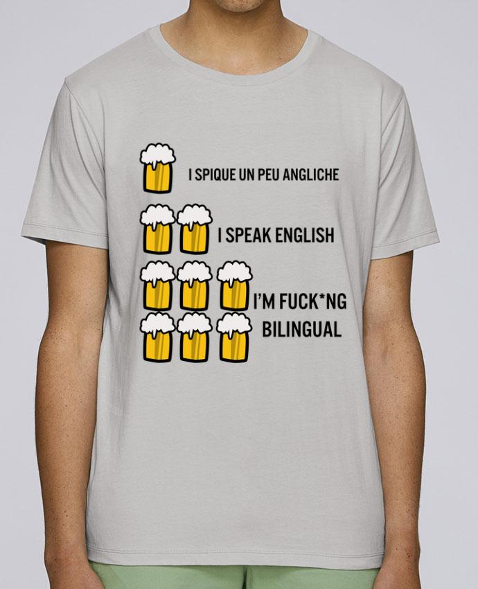 T-Shirt Col Rond Stanley Leads I'm bilingual par Kudice
