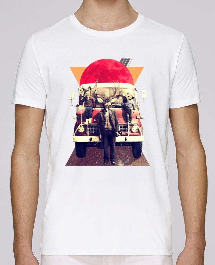 T-Shirt Col Rond Stanley Leads El camion par ali_gulec