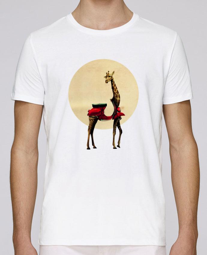 T-Shirt Col Rond Stanley Leads Giraffe par ali_gulec