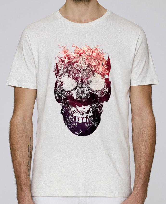 T-Shirt Col Rond Stanley Leads Floral skull par ali_gulec