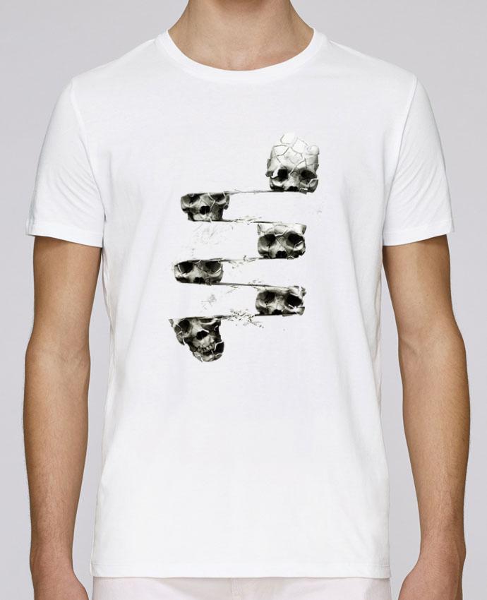 T-Shirt Col Rond Stanley Leads Skull 3 par ali_gulec