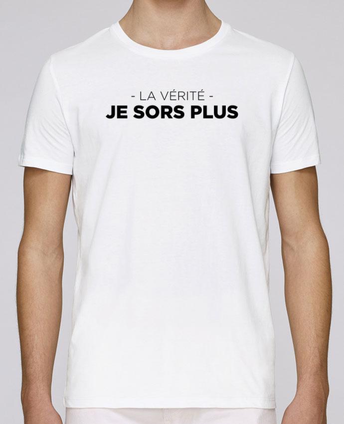 T-Shirt Col Rond Stanley Leads La vérité, je sors plus par tunetoo