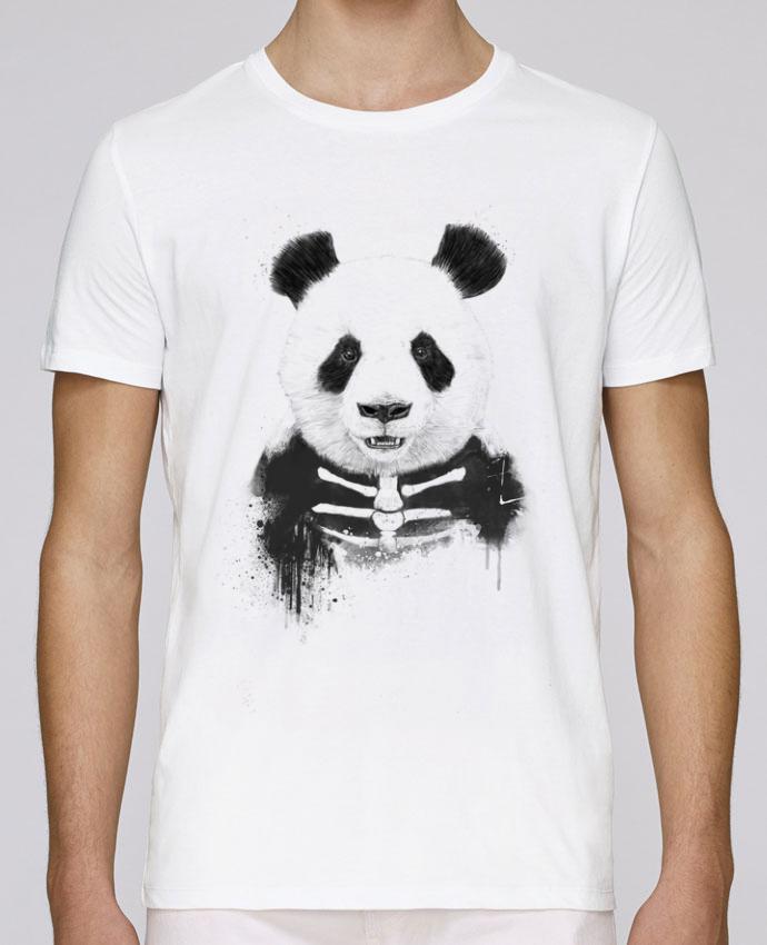 T-Shirt Col Rond Stanley Leads Zombie Panda par Balàzs Solti