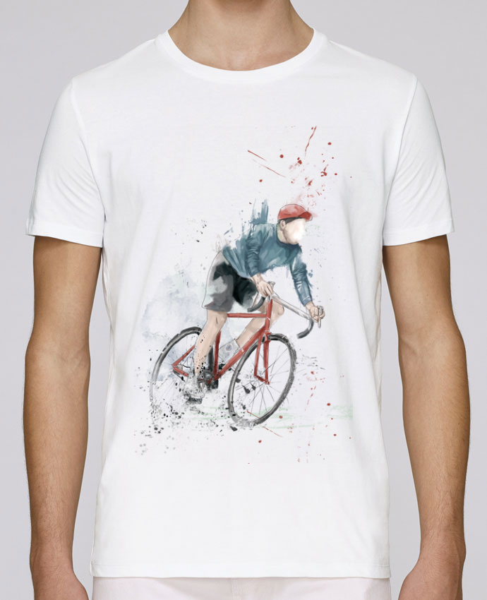 T-Shirt Col Rond Stanley Leads I want to Ride par Balàzs Solti