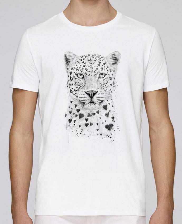 T-Shirt Col Rond Stanley Leads lovely_leopard par Balàzs Solti