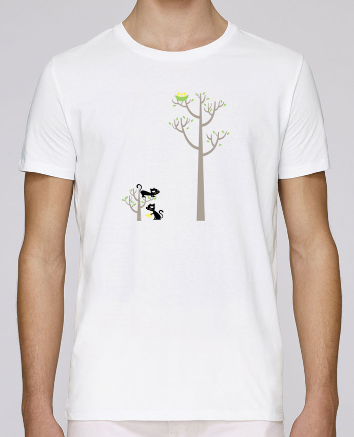 T-Shirt Col Rond Stanley Leads Growing a plant for Lunch par flyingmouse365