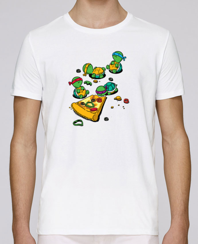 T-Shirt Col Rond Stanley Leads Pizza lover par flyingmouse365
