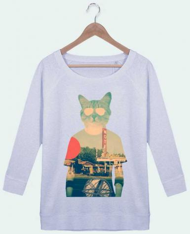 Sweat Manches 3/4 Femme Stella Amazes Tencel Cool cat par ali_gulec